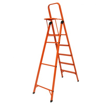 5 STEP LADDER WITH TOOL TRAY - COLOR