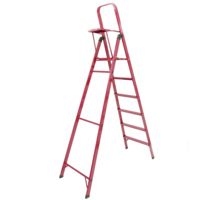 6 STEP LADDER WITH TOOL TRAY COLOR