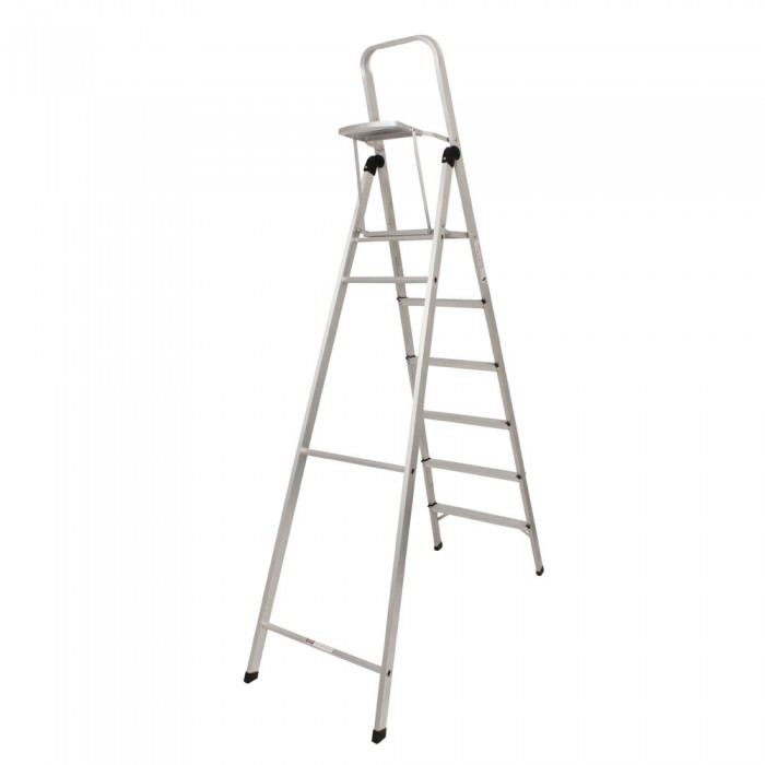 6 STEP LADDER WITH TOOL TRAY